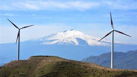 sicily wind turbines
